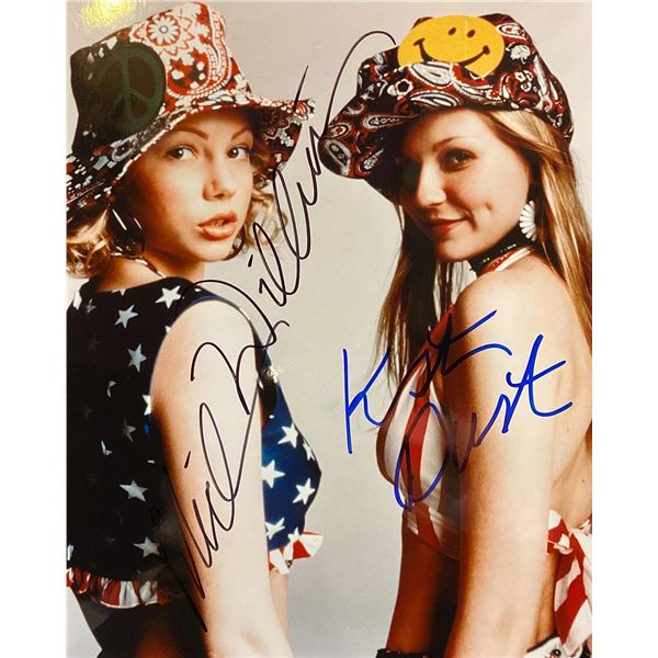 Dick Michelle Williams and Kristin Dunst Signed Movie Photo