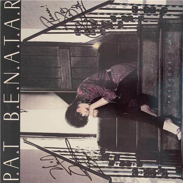 Pat Benatar Precious Time signed album