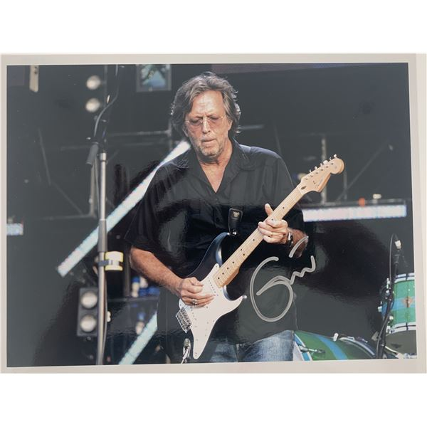 Eric Clapton signed photo.