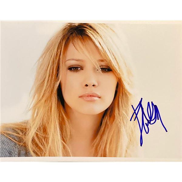 Hilary Duff Signed Photo