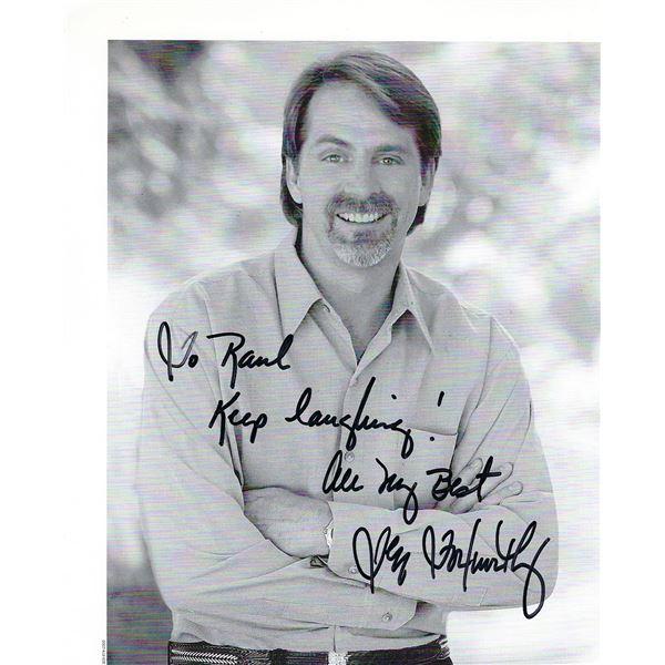 Jeff Foxworthy signed photo