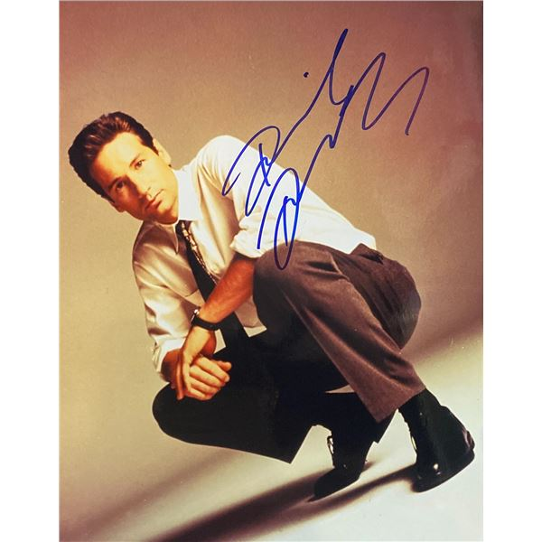 David Duchovny Signed Photo