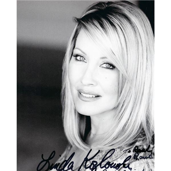 """Linda Kozlowski """"Crocodile Dundee"""" signed photo"""