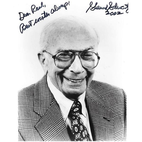 Gilligan's Island creator Sherwood Schwartz signed photo