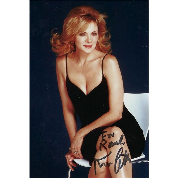Kim Cattrall signed Sex And The City photo