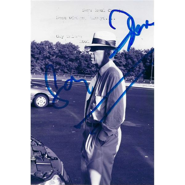 Gay Talese signed photo