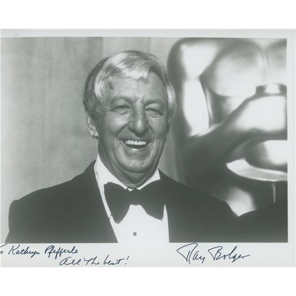 Ray Bolger signed photo