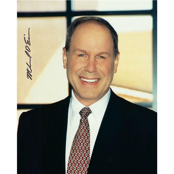 Disney CEO Michael Eisner signed photo