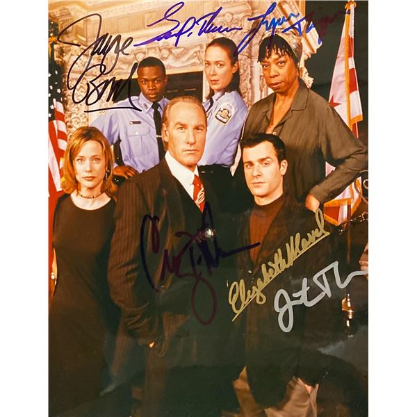 The District Cast Signed Photo