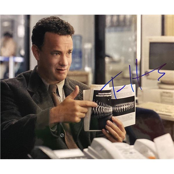 The Terminal Tom Hanks Signed Movie Photo