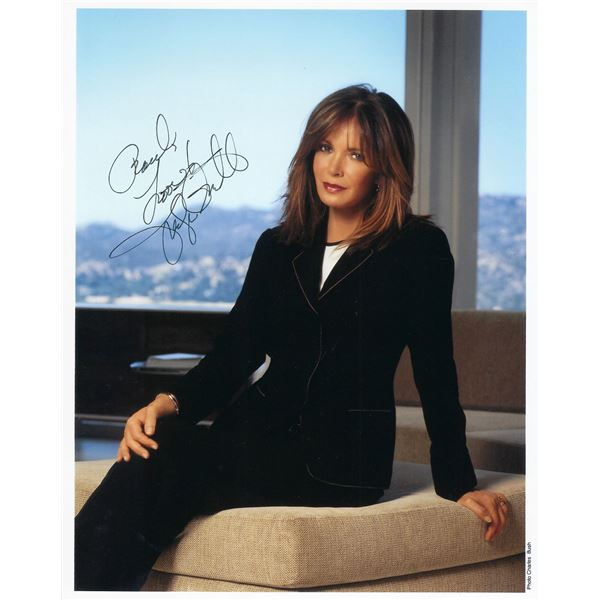 Jaclyn Smith signed photo