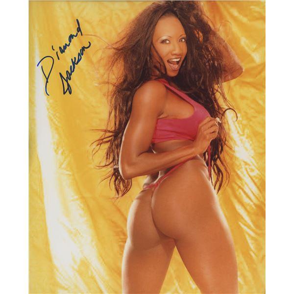 Diamond Jackson signed photo