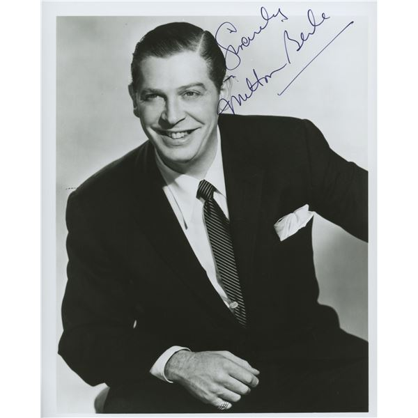 Milton Berle signed photo