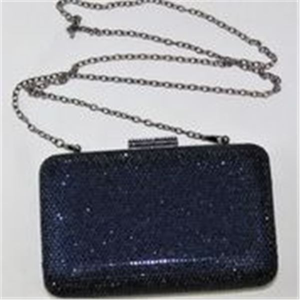 Swarovski Elements Crystal Purse with Rhinestone Necklace and Earrings