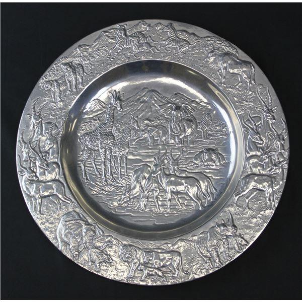 African Motif Serving Platter
