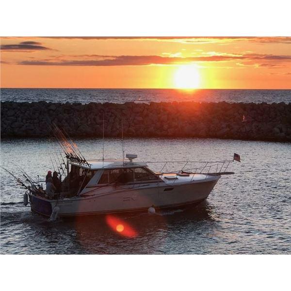 Five Hour Lake Michigan Fishing Trip
