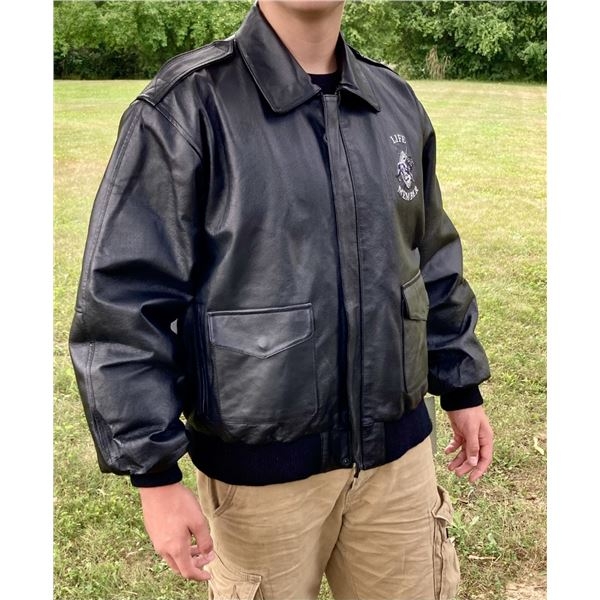 SCI Life Member Leather Jacket