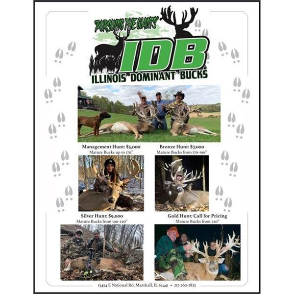 Illinois Dominant Bucks Whitetail Hunt