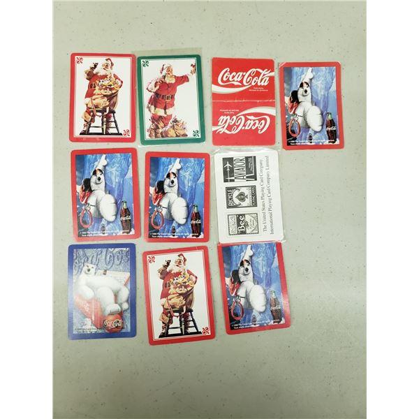 10 X COCA COLA CARDS