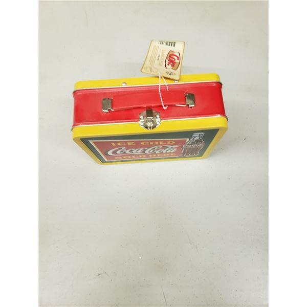 COCA COLA TIN LUNCH BOX