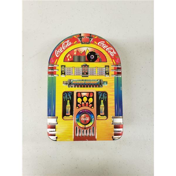 COCA COLA DUKE BOX TIN