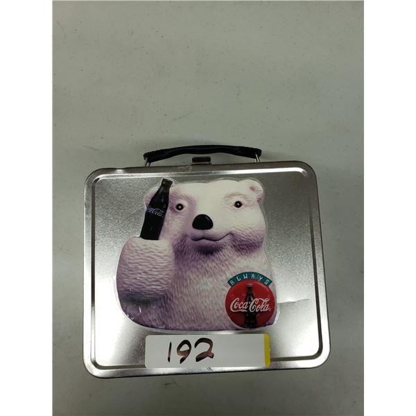 POLAR BEAR LUNCH BOX TIN