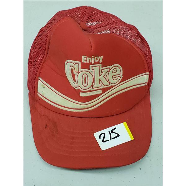 COCA COLA TRUCKER HAT