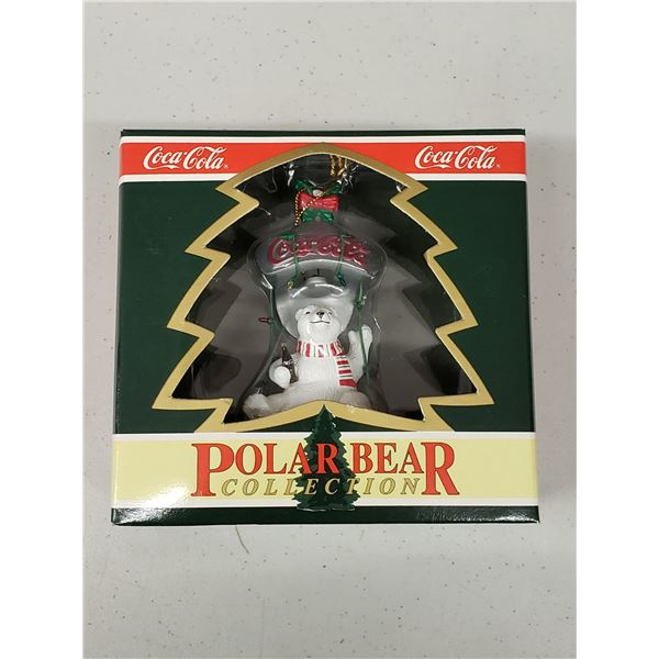 COLA BEAR COLLECTION ORNAMENT