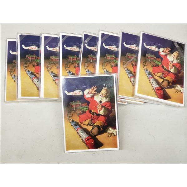 9 PACKS OF CARDS 7 PER PACK