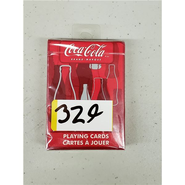 DECK OF COCA COLA PLAYING CARDS STILL IN ORIGINAL PACKAGING
