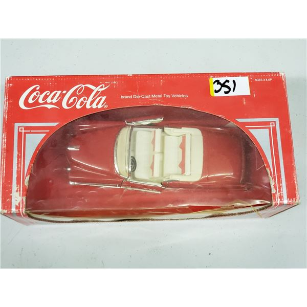 COCA COLA DIE CAST TOY CAR