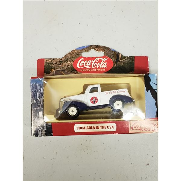 COCA COLA DIE CAST VEHICLES COCA COLA IN THE USA 1938 CHEVY PICK UP