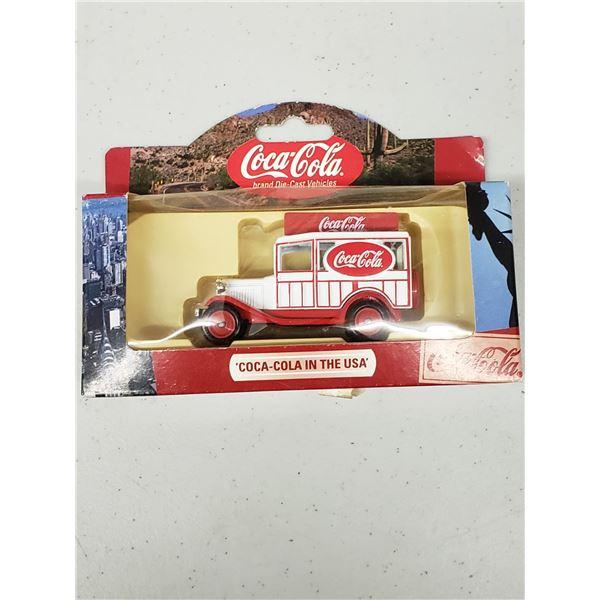 COCA COLA DIE CAST COCA COLA IN THE USA MODEL A WOODY WAGON