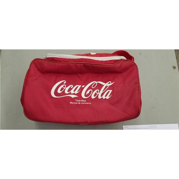 "COCA COLA INSULATION/ COOLER BAG 14"" X 7"" X 6"""
