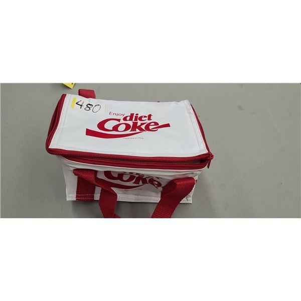 "COCA COLA INSULATION/ COOLER BAG 5"" X 5"" X 8"""