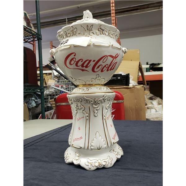 COCA COLA TROPHY COOKIE JAR