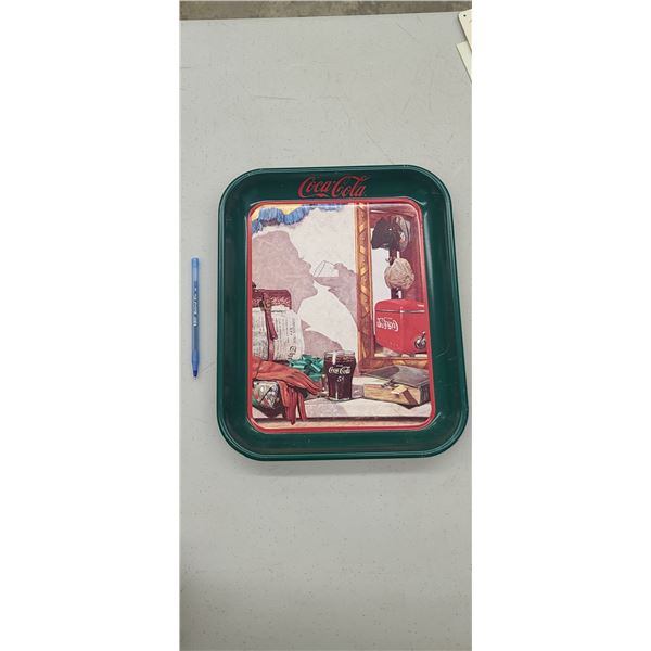 """COCA COLA TRAY """"REFLECTIONS IN THE MIRROR"""" ISSUED 1993"""