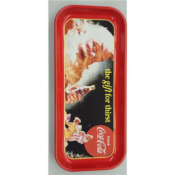 """""""GIFT FOR THIRST"""" COCA COLA TRAY ISSUED 1997"""