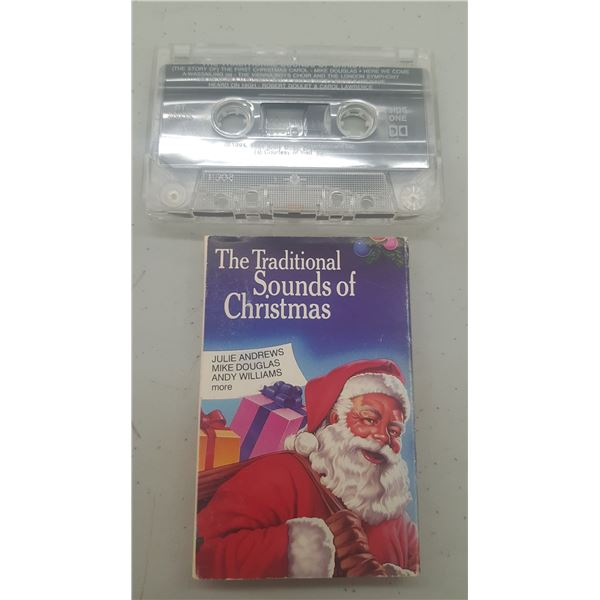 """""""TRADITIONAL SOUNDS OF CHRISTMAS"""" CASSET TAPE"""