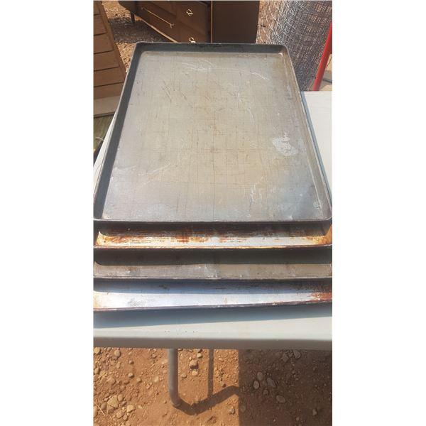 Stack of Baking Sheets