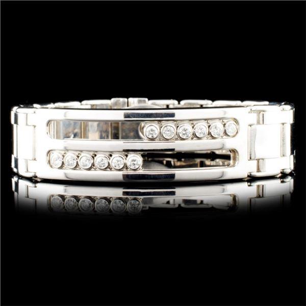 14K Gold 1.20ctw Diamond Bracelet