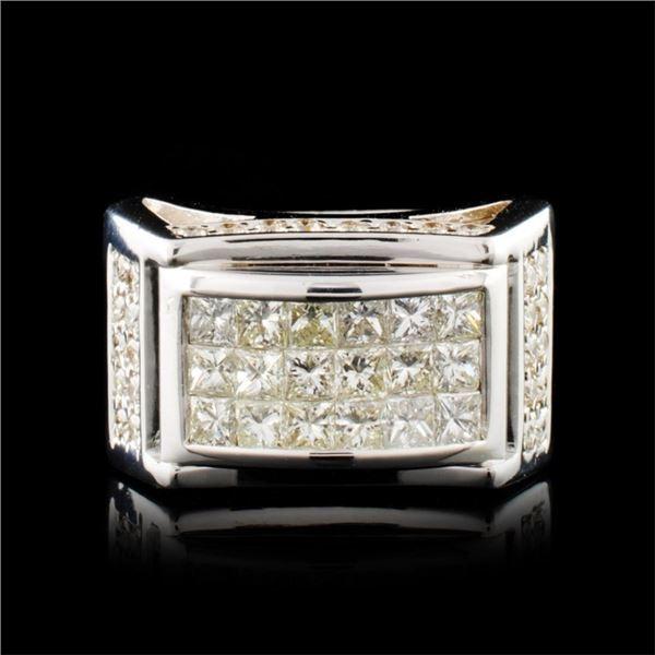18K Gold 2.12ctw Diamond Ring