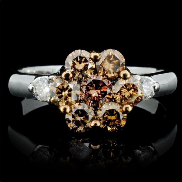 14K Gold 1.06ctw Diamond Ring