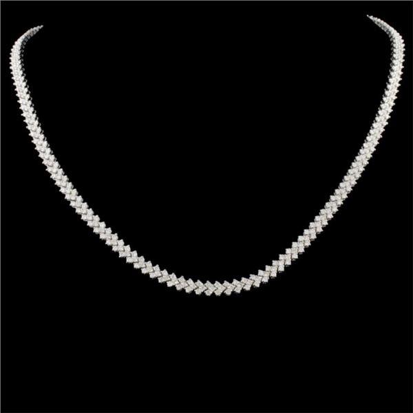 18K Gold 6.00ctw Diamond Necklace