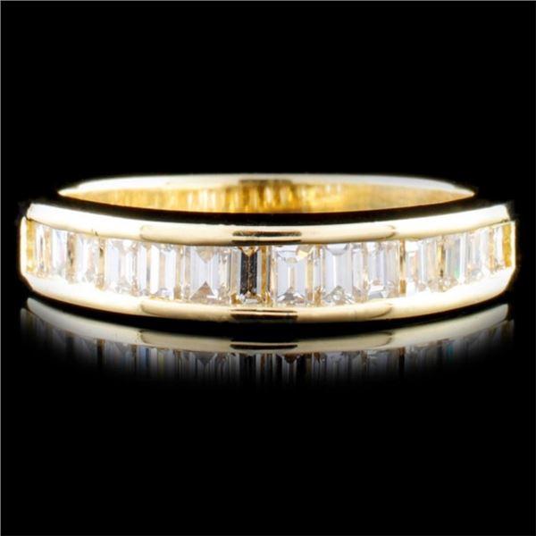 14K Gold 1.13ctw Diamond Ring