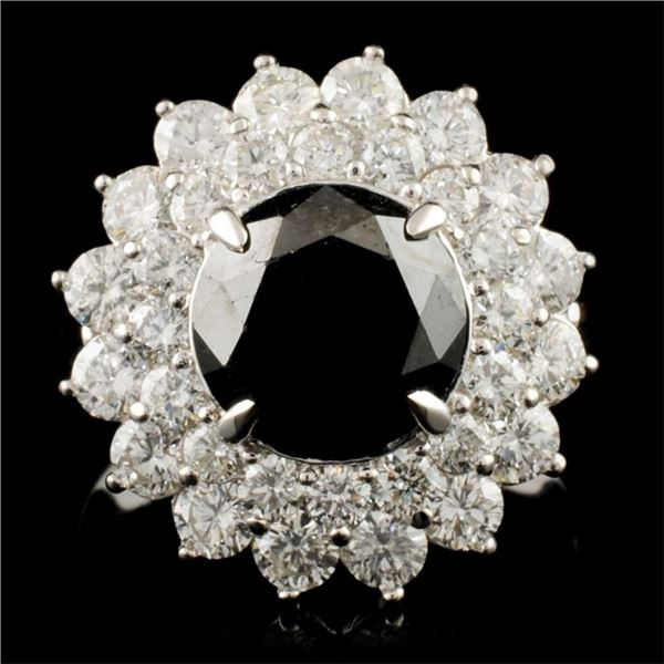 14K Gold 8.00ctw Diamond Ring