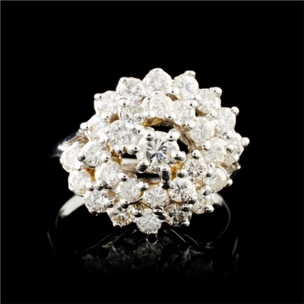 14K Gold 1.01ctw Diamond Ring