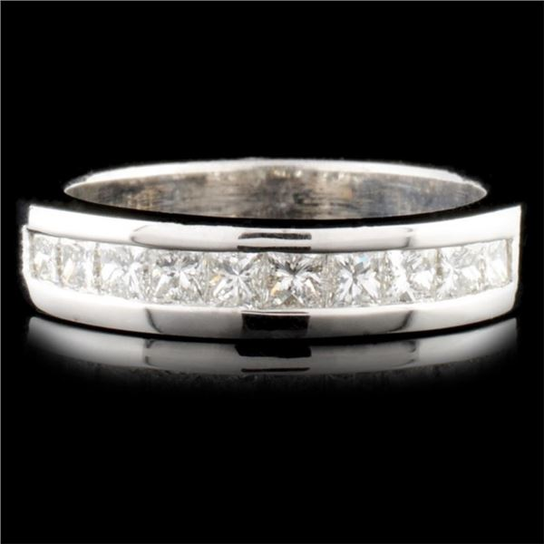 14K Gold 0.87ctw Diamond Ring
