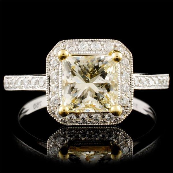 18K Gold 1.79ctw Diamond Ring