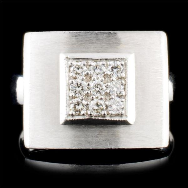 14K Gold 0.20ctw Diamond Ring